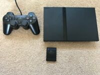 Playstation 2 slim ps two complete £40