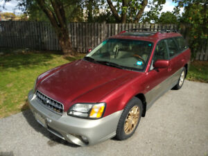 2003 SUBARU OUTBACK 3.0 H6 VDC model for sale AS IS: $1000 OBO