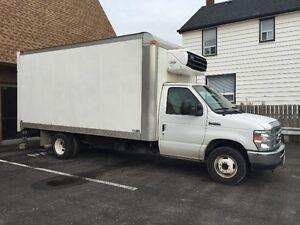 Diesel Refrigerated Truck Cube Van