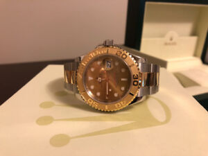 Two Tone Rolex Yacht-Master 40MM SS & 18K Gold For Sale.