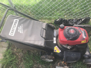 Used lawnmower about 7 years old