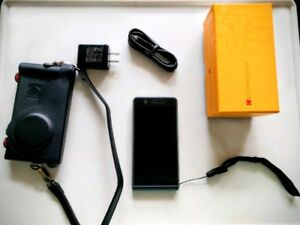 Kodak Ektra camera phone with free Kodak leather camera case