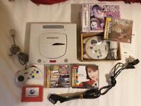 Sega Saturn - White Japanese Model / Pico PSU / Pseudo Kai / 3D Controller etc