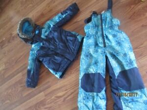 Girls Coat with matching Snowpants
