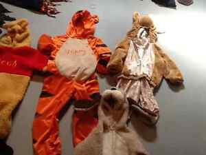 Several costumes