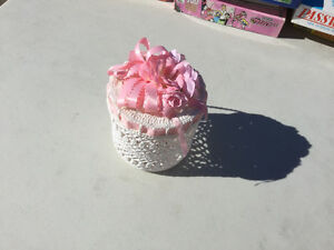 Crocheted Container  (NEW)