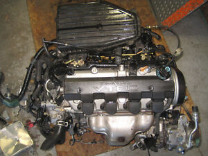 01 05 HONDA CIVIC 1.7L D17A ENGINE MANUAL TRANS JDM CIVIC MOTOR