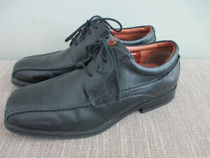 youth black dress shoes -Perfect condition
