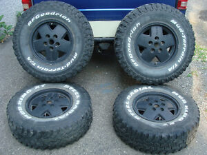 1 Set Alloy Mags Jantes/Rims Chevy Blazer-GMC Jimmy 4 WD 7x15''