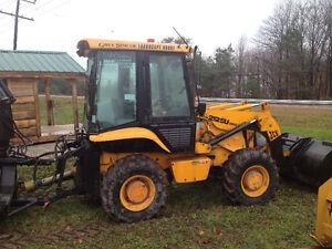2001 JCB 212SU Industrial Loader Tractor / Attachments