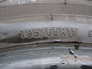 "15""  Pair of Touring Tires  195/ 65 / R15 Cambridge Kitchener Area image 2"