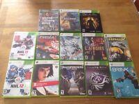 13 jeux Xbox 360