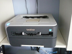 BROTHER LASER PRINTER  WITH NEW LASER CARTRIDGE