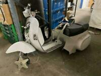 LML Star Lite Scooter, Spares or Repairs, Frame, Classic, Project
