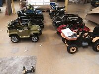 12v electric sit and ride electric cars jeep quads FROM £99