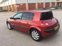 **£30 TAX FOR 1 YEAR+LADY OWNED+RENAULT MEGANE DYNAMIQUE DCI 1.5 DIESEL (2006 YEAR)**