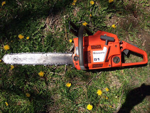 Husqvarna 51 chainsaw in good shape