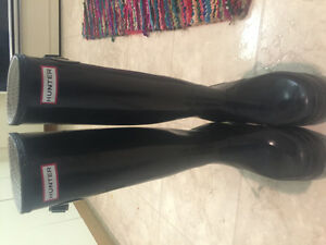 Hunter Boots-Size 8