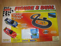 Battery operated road racing set.