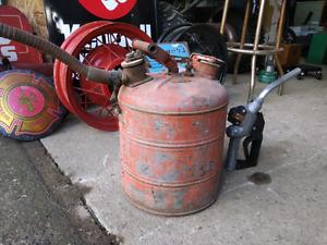 Vintage Gas / Fuel can
