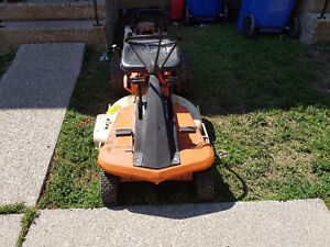 Old ariens emperor rear engine riding lawn mower for sale or tra