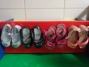 Size 6 baby girl shoes