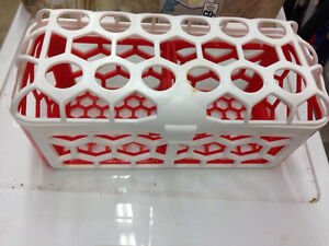 Bottle dishwasher basket