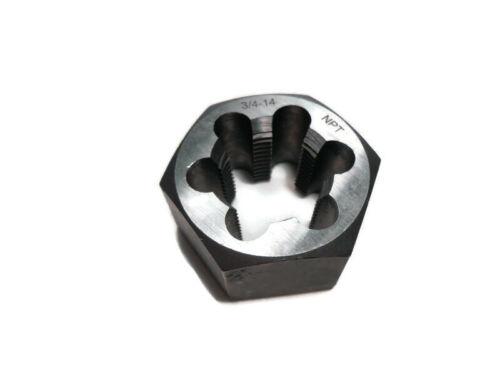 3/4-14 NPT Carbon Steel Hex Die Hexagon Die Hexagonal Re-Threading Die
