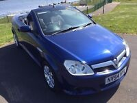 Vauxhall Tigra 1.4 16v twinport coupe exclusive, petrol, manual. 54 reg 2005