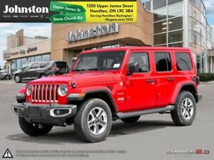 2018 Jeep Wrangler Unlimited Sahara  - Remote Start - $169.56 /W