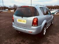Ssangyong Rexton - low milage Automatic 2.7 diesel 4x4