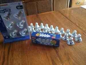 50 bulbs ...  50 watt GU10
