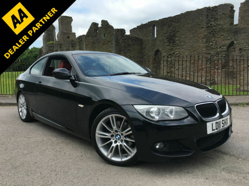 2011 bmw 320d m sport red leather xenon lights full history in neath neath port. Black Bedroom Furniture Sets. Home Design Ideas