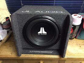 JL Audio sub and Hertz amp