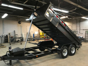 ALL NEW COMMANDO EXECUTIVE SERIES DUMP TRAILER  7 TON