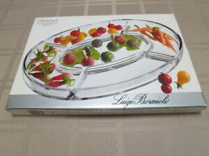 Glass Appetizer Tray