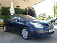 2010 TOYOTA AVENSIS 1.6 T2 VALVEMATIC SALOON PETROL