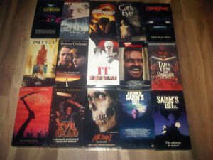 Horror movies VHS