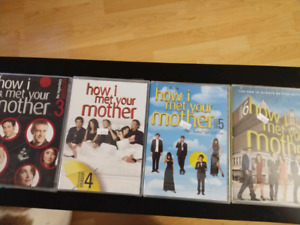 How I Met Your Mother season 3 to 6