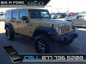 2013 Jeep Wrangler Unlimited   - local - trade-in - non-smoker -