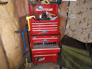 Tools and drills and misc garage stuff
