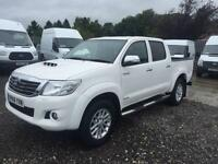 2014 14 TOYOTA HI-LUX 3.0 INVINCIBLE 4X4 D-4D DCB 1D 169 BHP DIESEL PICK UP