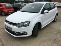 2014 VW Polo 1.0 SE 5 Dr Manual White Year MOT Serviced £20 Tax