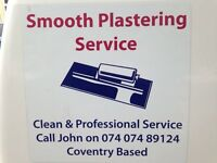 Smooth plastering 07407489124