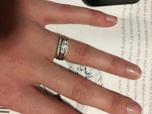 18ct white gold Ring Set $1100 OBO