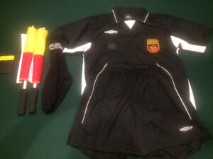 Referee uniform and equipment