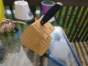 Knife Block and Single Knife