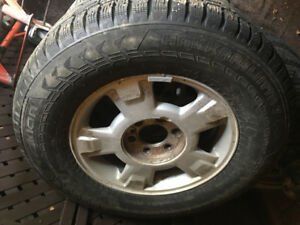 F-150 Winter Wheel and Tire Package