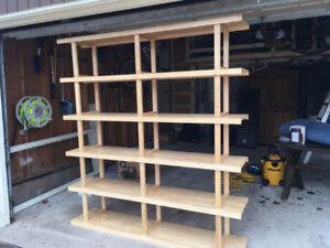 Solid Wood Ikea Shelving Unit - Great for Toys/Books