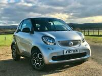 2017 smart fortwo coupe 1.0 Prime 2dr Auto COUPE Petrol Automatic
